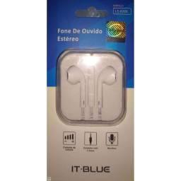 (WhatsApp) fone de ouvido estéreo le-0206 - it-blue