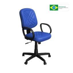 Cadeira para Escritório Giratória Azul