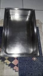Assadeira 56cm Inox Brinox