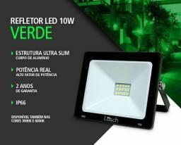 Refletor Led Holefote 10W Prova d'água - Entregamos