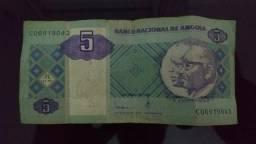 Cédula 5 Kwanzas (Angola)
