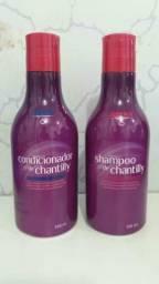Kit de chantilly para seus cabelos