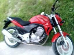 Vendo cb300 toda legalizado moto top - 2010