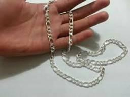 Corrente de prata banhada