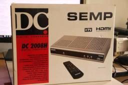 Conversor Digital Semp Toshiba DC2008H, Saída HDMI para Alta Definição