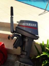 Motor de popa yamaha 8 hp ano 2002