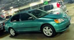 Honda Civic LX 1.7 automático 2001 115cv impecável - 2001