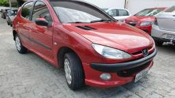 Novo sem igual! Peugeot 206 1.4 2008 Extra - 2008