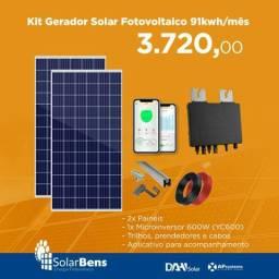 Gerador de Energia Solar Fotovoltaica
