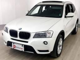 BMW X3 XDRIVE 20i 2.0/X-Line Bi-TB Flex Aut. - Branco - 2014 - 2014