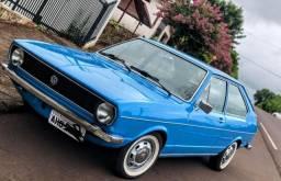 Vw passat 1.6 azul 1976 restaurado