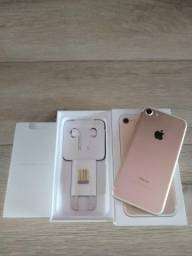 IPhone 7 Apple 32GB Ouro Impecável Completo