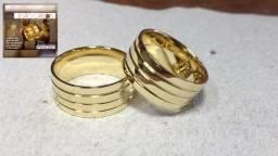 Alianças e Anéis de Moedas