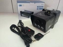 Máquina de Fumaça com led e controle remoto Nova Na caixa