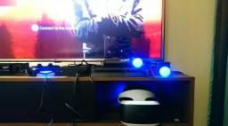 Combo Playstation 4 + Ps4 Vr + Red Dead 2 Ótimo Negócio!!!!!