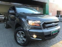 Ford Ranger XLS Automatica 4X4 Diesel 2017 2018 Cinza - 2018