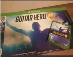 Guitar Hero xbox One - Guitarra + jogo + adptador