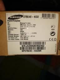 Vendo notebook Samsung novo