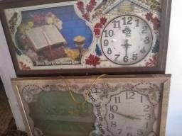 Coleção de quadros relógio 7 peças