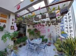 Cobertura com 2 dormitórios para alugar, 140 m² por R$ 2.900,00/mês - Barro Vermelho - Vit