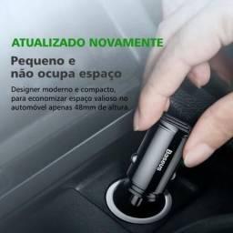 Baseus Carregador Veicular Rápido 30W