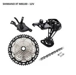 Grupo Shimano XT M8100 - 12V