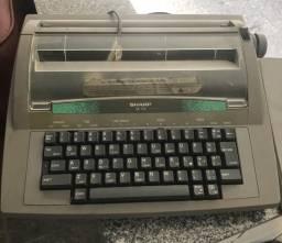 Máquina escrever elétrica pra colecionador