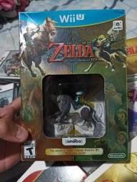 Zelda Twilight Princess HD com amiibo lacrado comprar usado  São Paulo