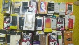 Lote 255 capas para celular