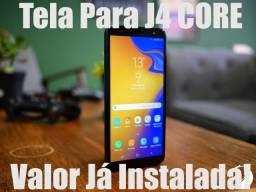Tela Para Samsung J4 Core J410 Display Original - Instalação Na Hora!!