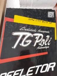 Calha de chuva TG poli para Honda city 09/14 4 portas nova instalada no seu carro