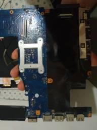 Placa mãe Lenovo g40-70 (com defeito)