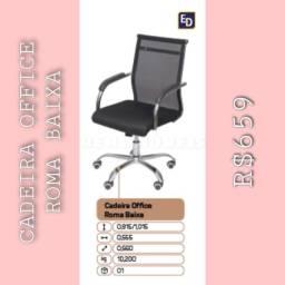 Cadeira cadeira office Roma baixa 009