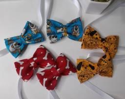Kit gravatas pet 10 peças