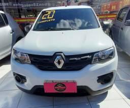 Kwid Zen 1.0/ 2020 COMPLETO + GNV ( ENTRADA R$ 5.000,00 + 48x 997,00)