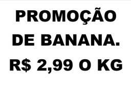 Promoção de banana. 069 3224-2436. Ligação ou watts<br>