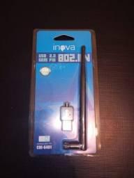 Adaptador Wi-Fi Sem Fio (USB)900Mbps