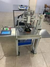 Maquina de aplicação de elástico com Ultrasom - Máscaras TNT