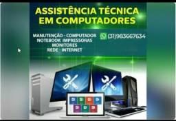Tecnico em Informartica manutançao de computadores e notebook
