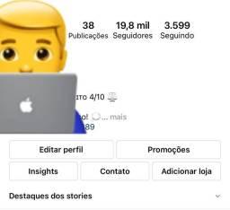 Conta do instagram