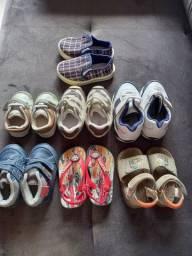 Combo de calçados de bebe menino