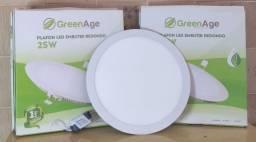 Plafon LED Redondo 25W Embutido GreenAge