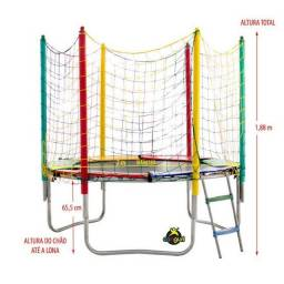 cama elastica 2,00 m pronta entrga