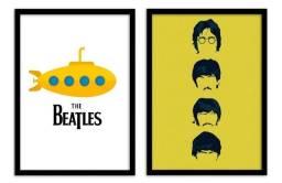 Quadros decorativos Beatles
