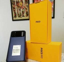 Xiaomi Poco M3 10X S/Juros 64GB/4Ram/1Ano de Garantia/Snapdragon 662/48MP