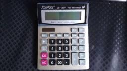 Calculadora bateria solar ou a pilha (1 pilha AA) 12 dígitos