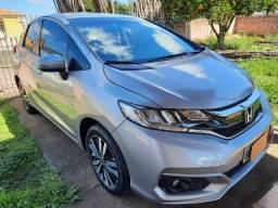 Título do anúncio: Honda Fit EXL 2018 automático, prata, com 52.500 km, em ótimo estado.