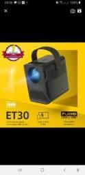 Título do anúncio: Projetor AUN Et30  full HD