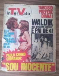 Antiga revista intervalo ano 1971