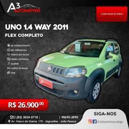 Uno Way 1.4 Vivace 2011 Completo!!!